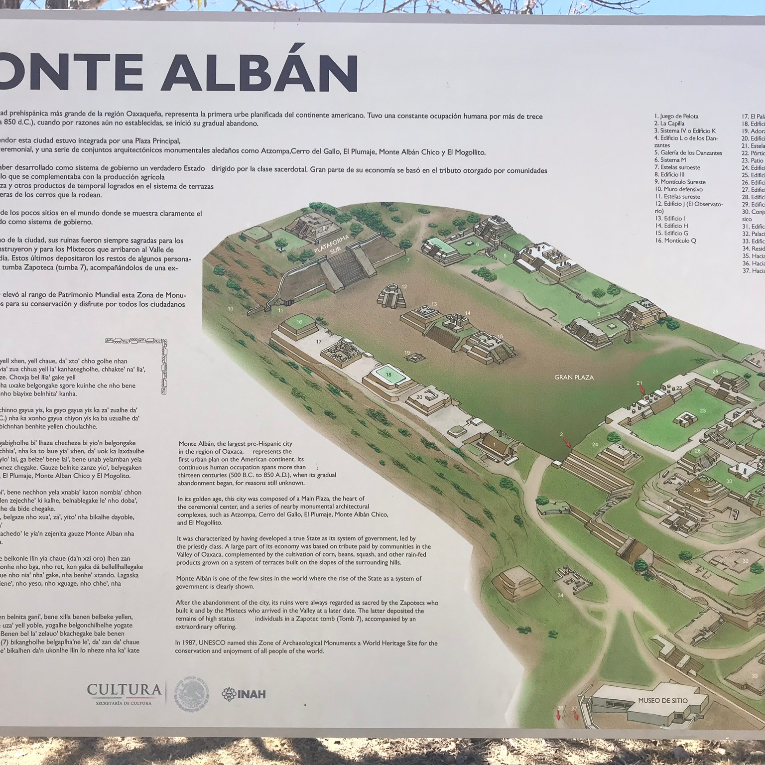 Monte Alban A Guide To The Ancient Zapotec City The